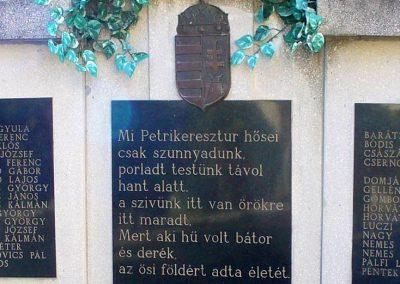 Petrikeresztúr világháborús emlékmű 2008.02.19. küldő-HunMi (3)