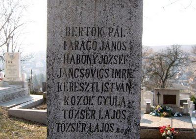 Piliny I.vh emlékmű 2011.03.12. küldő-kalyhas (5)