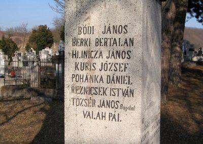 Piliny I.vh emlékmű 2011.03.12. küldő-kalyhas (7)