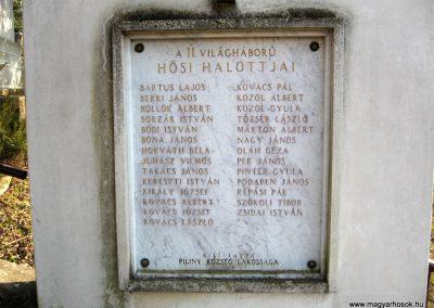 Piliny II.vh emlékmű 2011.03.12. küldő-kalyhas (2)