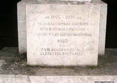 Pilis I. világháborús emlékmű 2014.03.16. küldő-Méri (2)