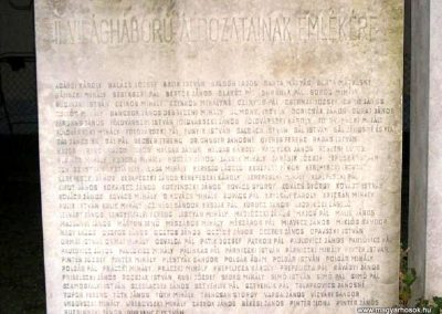 Pilis II. világháborús emlékmű 2014.03.16. küldő-Méri (2)