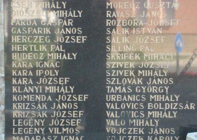 Piliscsév világháborús emlékmű 2008.06.28.küldő-Huszár Peti (2)