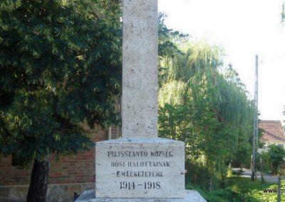 Pilisszántó világháborús emlékmű 2008.06.28. küldő-Huszár Peti (2)