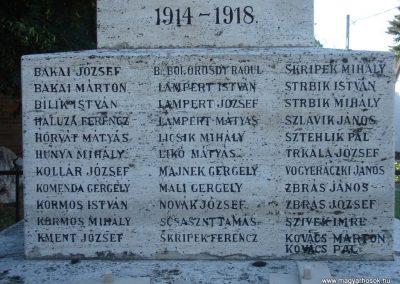 Pilisszántó világháborús emlékmű 2008.06.28. küldő-Huszár Peti (3)
