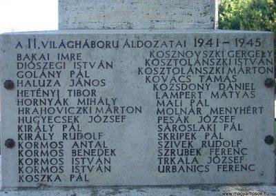 Pilisszántó világháborús emlékmű 2008.06.28. küldő-Huszár Peti (4)