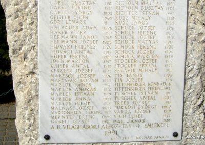 Pilisszentiván hősi emlékmű 2008.04.21. küldő-Huszár Peti (11)