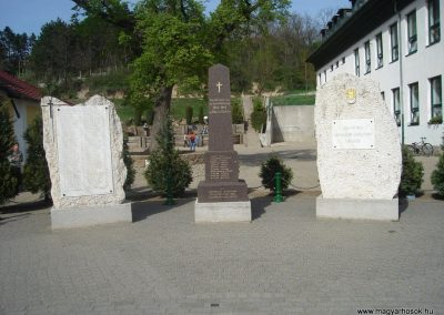 Pilisszentiván I.-II. világháborús emlékmû