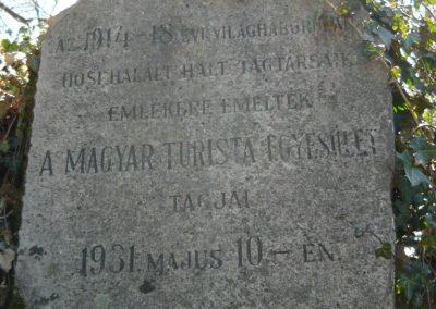 Pilisszentkereszt-Dobogókő világháborús emlékmű 2010.04.17. küldő-Ágca (1)