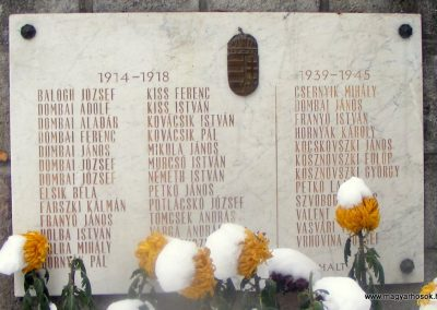 Pilisszentlászló világháborús emlékmű 2012.12.08. küldő-Méri (5)