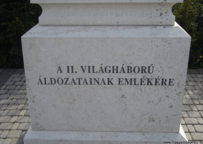 Pilisvörösvár hősi emlékmű 2008.04.21. küldő-Huszár Peti (6)