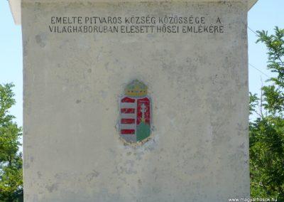 Pitvaros I. világháborús emlékmű 2012.07.14. küldő-Sümec (4)