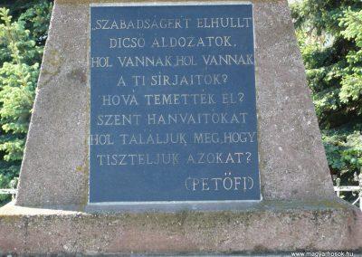 Porrogszentkirály világháborús emlékmű 2009.05.08.küldő-Sümec (2)