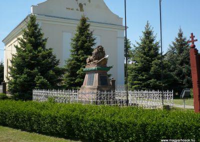 Porrogszentkirály világháborús emlékmű 2009.05.08.küldő-Sümec