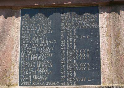 Porrogszentkirály világháborús emlékmű 2009.05.08.küldő-Sümec (7)