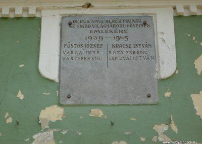Porrogszentpál világháborús emléktáblák 2009.05.12.küldő-Sümec (3)