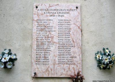 Porva II.vh emléktábla 2010.07.24. küldő-kalyhas (2)