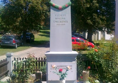 Pusztaszemes világháborús emlékmű 2010.08.26. küldő-Csiszár Lehel