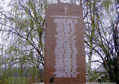 Pusztavám evangélikus templomkert II.vh emlékmű 2012.04.07. küldő-Méri (1)