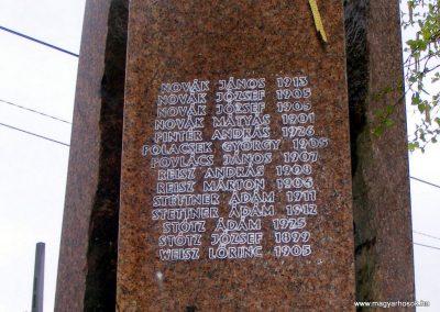 Pusztavám evangélikus templomkert II.vh emlékmű 2012.04.07. küldő-Méri (2)