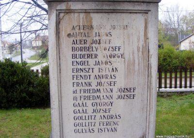 Pusztavám katolikus templomkert I.vh emlékmű 2012.04.07. küldő-Méri (3)