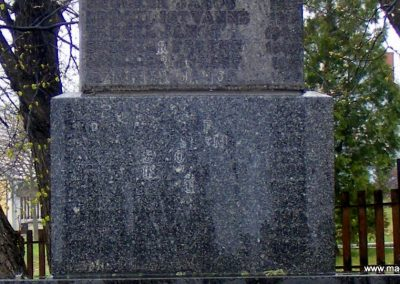 Pusztavám katolikus templomkert II.vh emlékmű 2012.04.07. küldő-Méri (3)