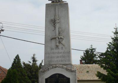 Rábakecskéd világháborús emlékmű 2009.05.15. küldő-Sümec (2)