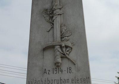 Rábakecskéd világháborús emlékmű 2009.05.15. küldő-Sümec (4)