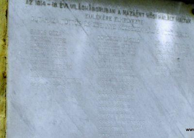 Rábatöttös I.vh emléktábla 2009.07.25. küldő-Papuska (3)