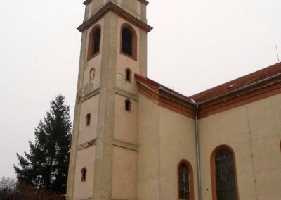 Rábatamási, templom