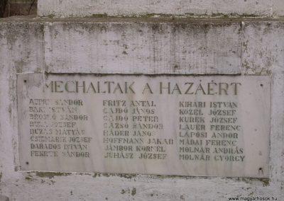 Ráckeresztúr I.vh emlékmű 2009.04.26.küldő-Magyar Benigna (6)