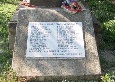 Rád világháborús emlékmű 2009.09.28. küldő-kalyhas (7)