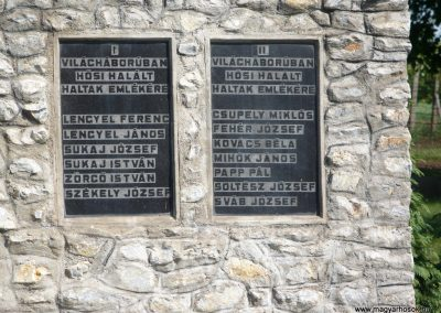 Rásonysápberencs világháborús emlékmű 2009.05.21.küldő-Gombóc Arthur (2)