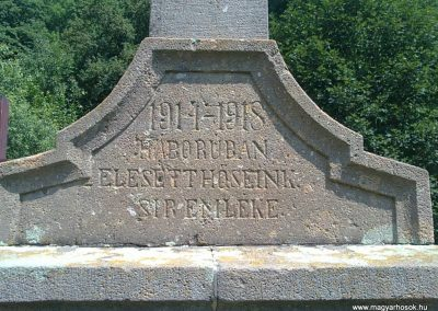 Répáshuta I.világháborús emlékmű 2012.07.07. küldő-Pataki Tamás (2)