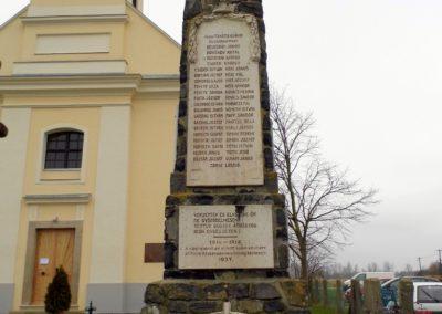 Répceszemere I. és II. vh-s emlékmű