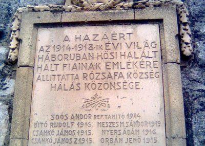 Rózsafa világháborús emlékmű 2012.05.14. küldő-KRySZ (2)