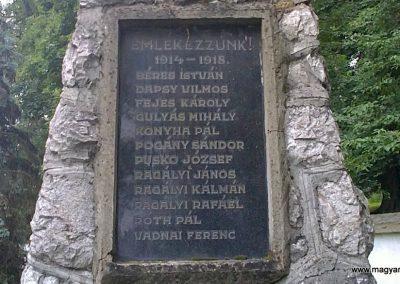 Ragály I.világháborús emlékmű 2011.06.30. küldő-Pataki Tamás (2)