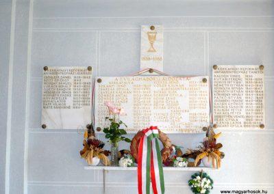 Ramocsa közös II.világháborús emléktábla Kerkafalván 2009.11.17. küldő-Sümec