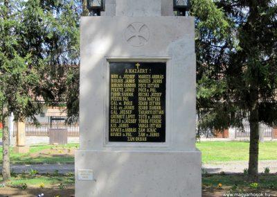 Recsk felújított I. világháborús emlékmű 2014.04.10. küldő-kalyhas (8)