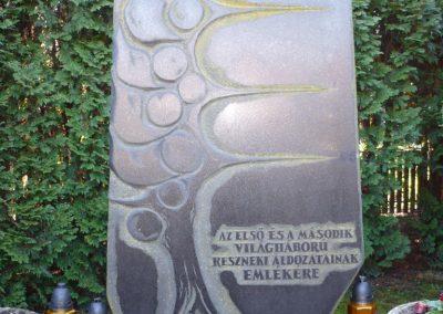 Resznek világháborús emlékmű 2009.11.17. küldő-Sümec (2)