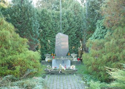 Resznek világháborús emlékmű 2009.11.17. küldő-Sümec