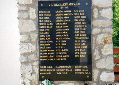 Ricse világháborús emlékmű 2012.06.04. küldő-megtorló (4)