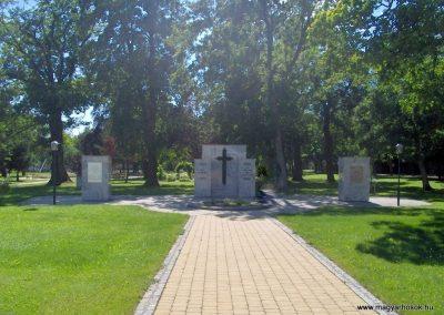 Rohonc (Rechnitz) világháborús emlékhely 07