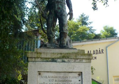 Rudabánya I.vh emlékmű 2010.08.12. küldő-Gombóc Arthur