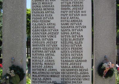 Ruzsa II.vh emlékmű 2011.08.18 küldő-kalyhas (6)