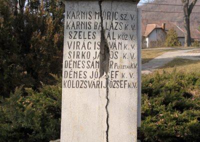 Ságújfalu világháborús emlékmű 2011.03.12. küldő-kalyhas (2)
