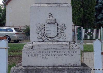 Ságvár I. világháborús emlékmű 2014.06.26. küldő-Ősz Béláné (2)