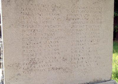 Ságvár I. világháborús emlékmű 2014.06.26. küldő-Ősz Béláné (3)
