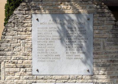 Sáp világháborús emlékmű 2018.05.26. küldő-Bóta Sándor (11)