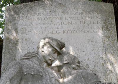 Sáp világháborús emlékmű 2018.05.26. küldő-Bóta Sándor (3)